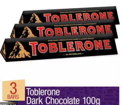 Dark Toblerone