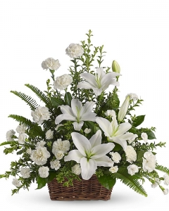 Funeral_White Floral