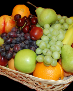8 items fruits
